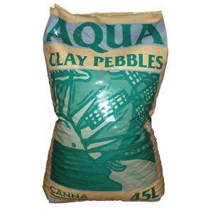 Canna Aqua Clay Pebbles 45L
