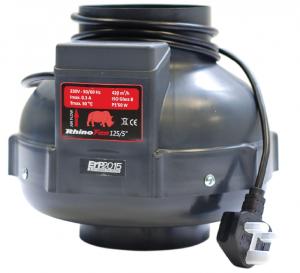 Rhino Single Speed Fan 200mm HP