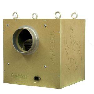 """Gekko Acoustic Box Fan 203mm (8"""") 1000m3/HR"""