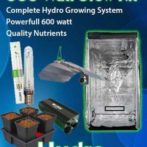 600 Watt Hydroponics Grow Kit