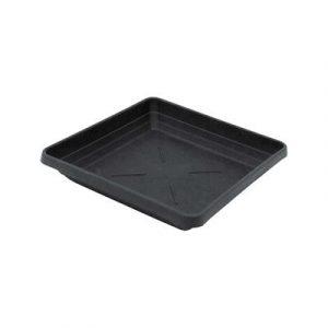 Square Pot Saucer 21cm